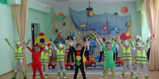 В Ставрополе подвели итоги муниципального этапа краевого смотра-конкурса среди дошколят по безопасности дорожного движения «Зеленый огонек – 2017»